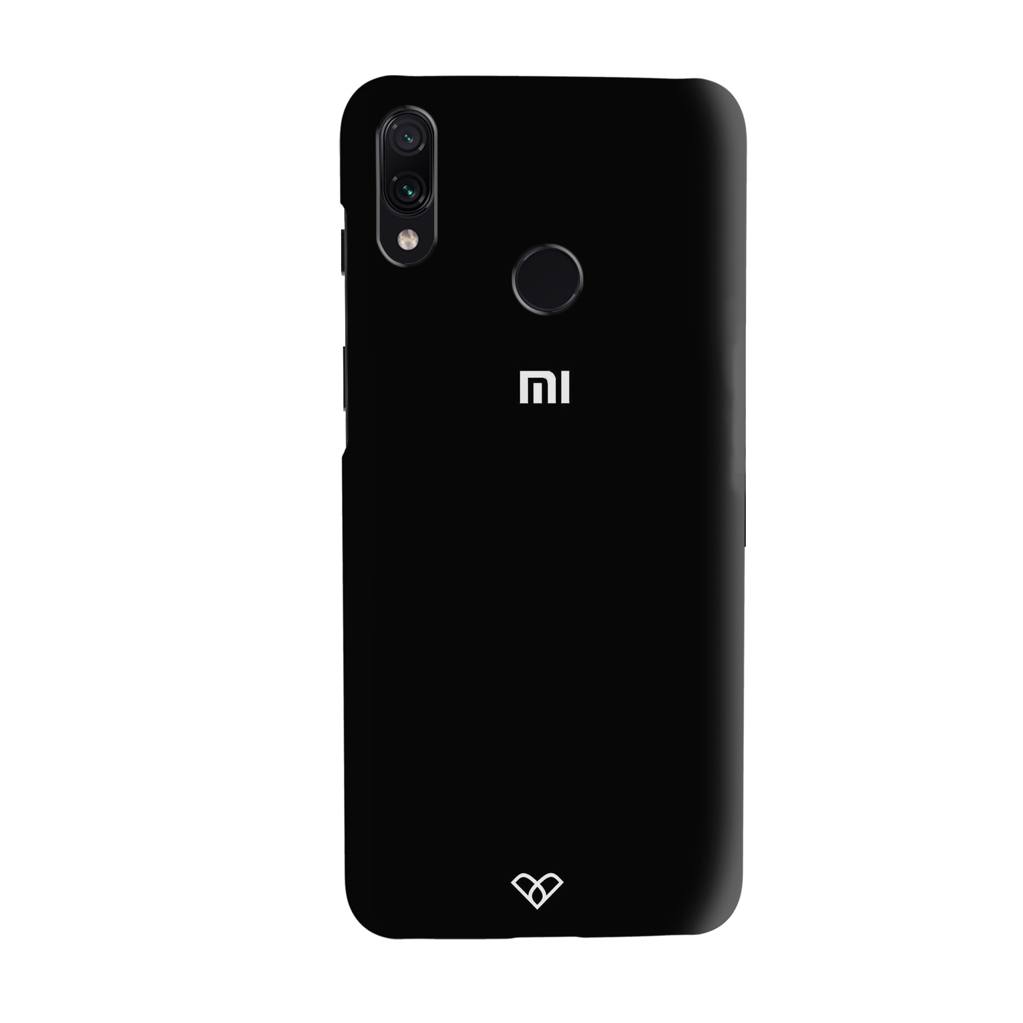 Jet Black Slim Case And Cover For Redmi Note 7 Pro