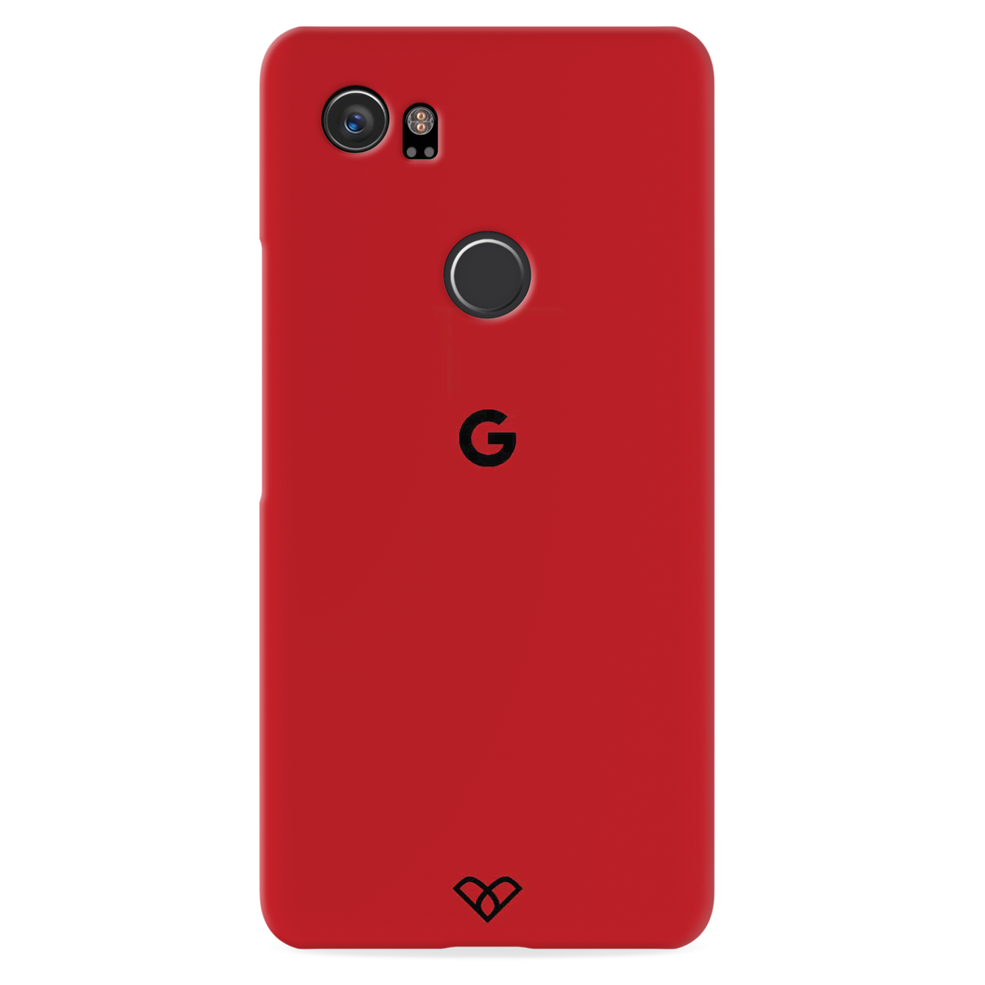 Red Slim Case And Cover For Pixel 2 XL