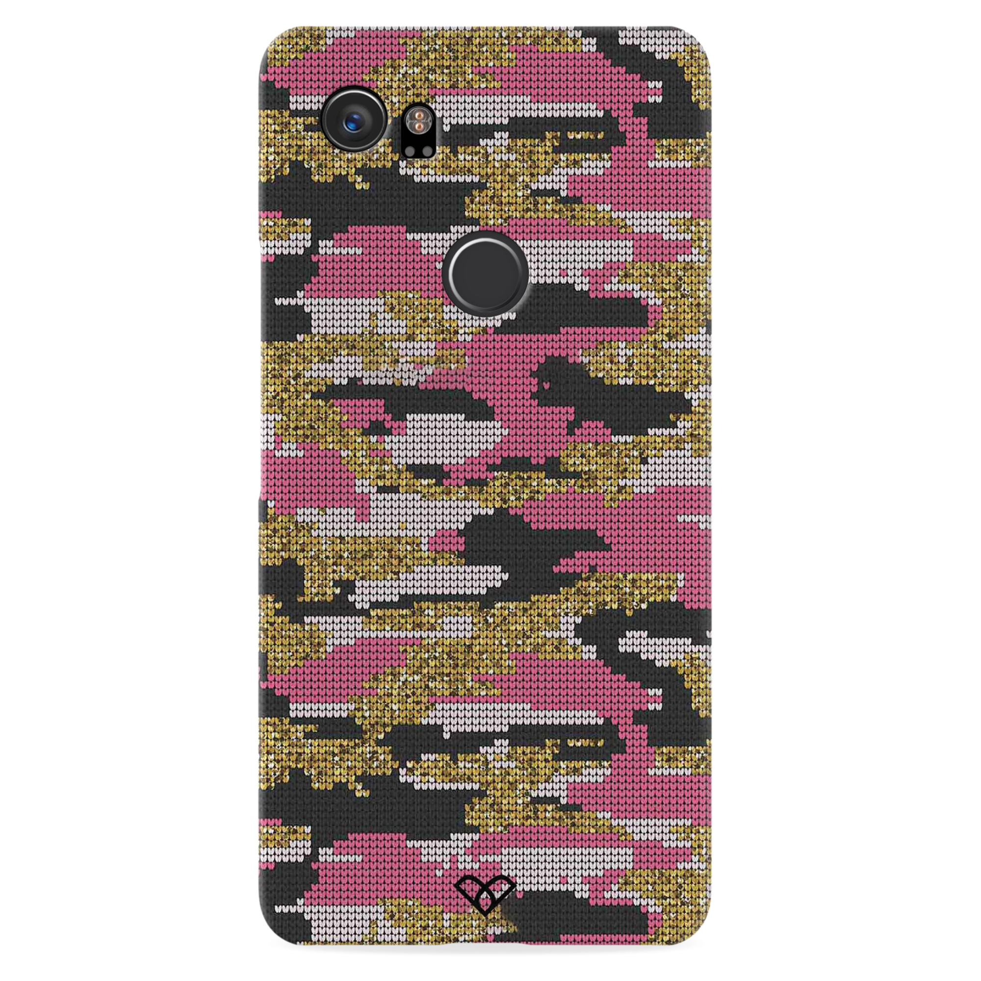 Pink Camouflage Slim Case And Cover For Pixel 2 XL