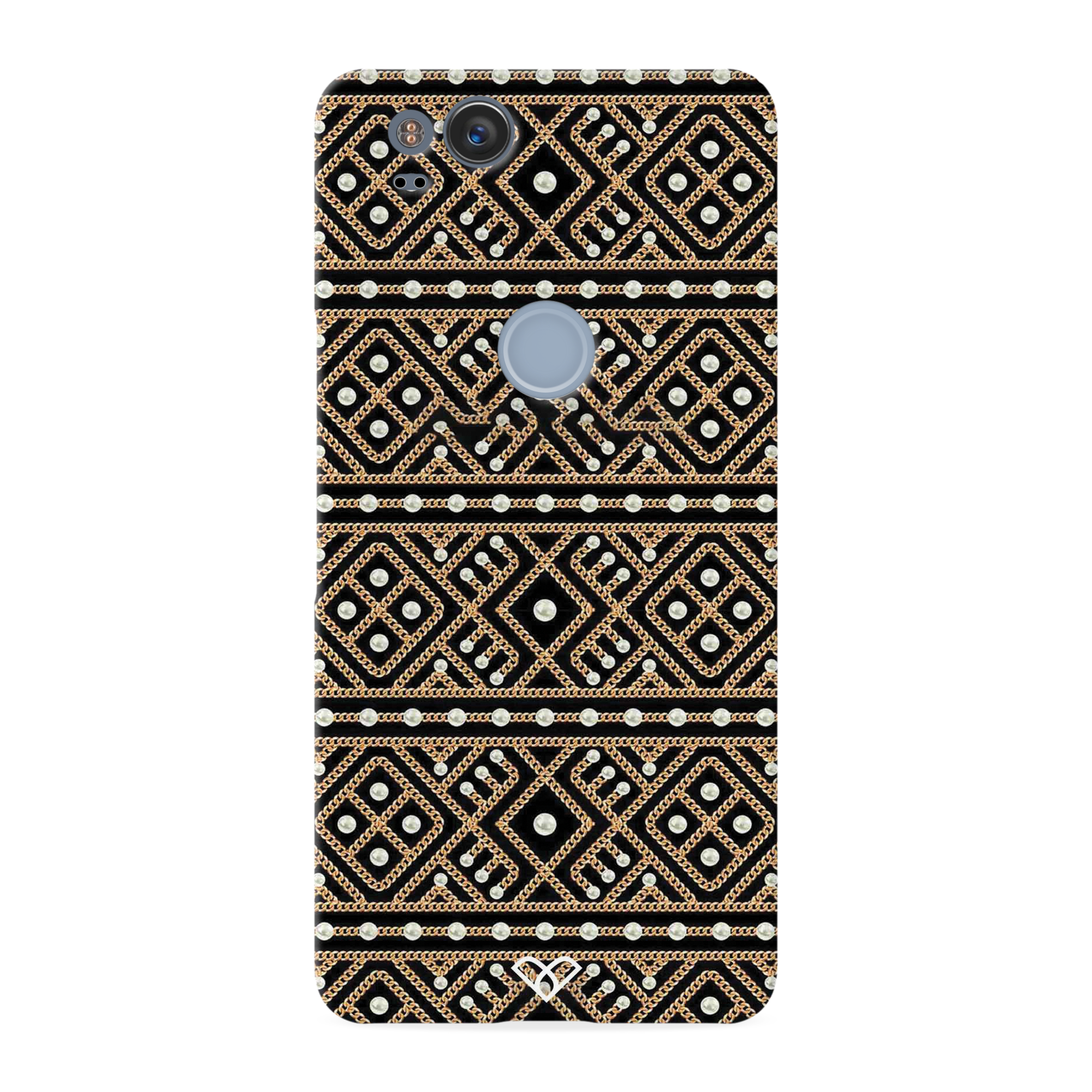 Acoustic Pattern Slim Case And Cover For Pixel 2