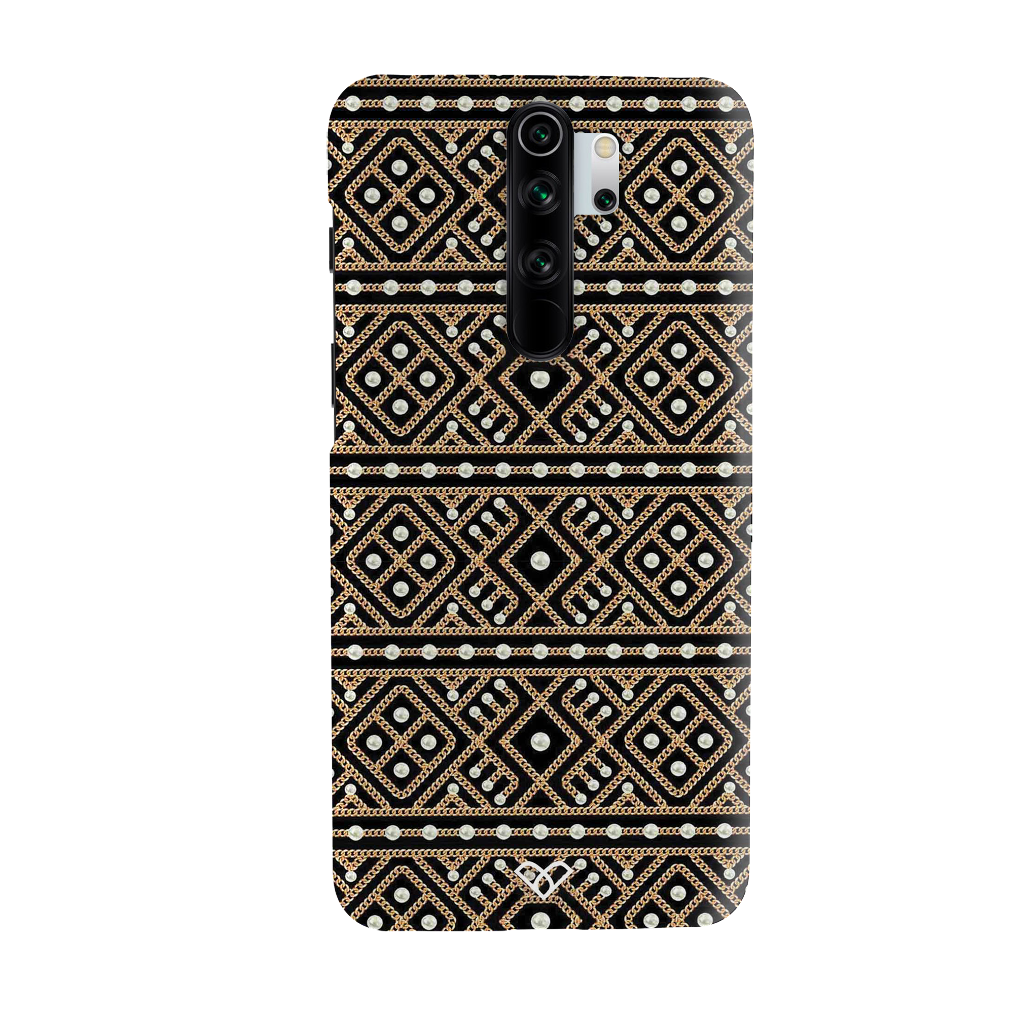 Acoustic Pattern Slim Case And Cover For Redmi Note 8 Pro