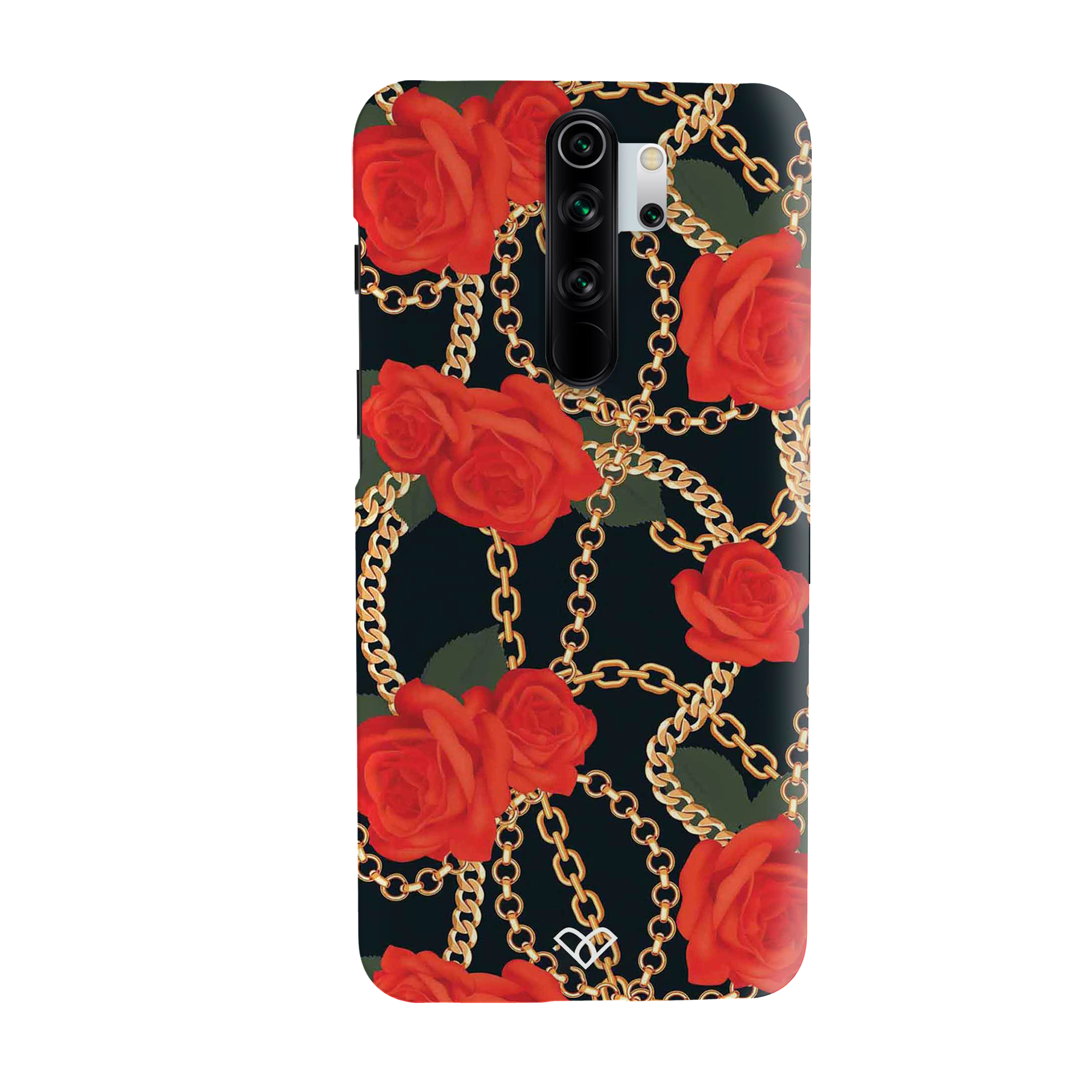 Red Rose Chain Slim Case And Cover For Redmi Note 8 Pro