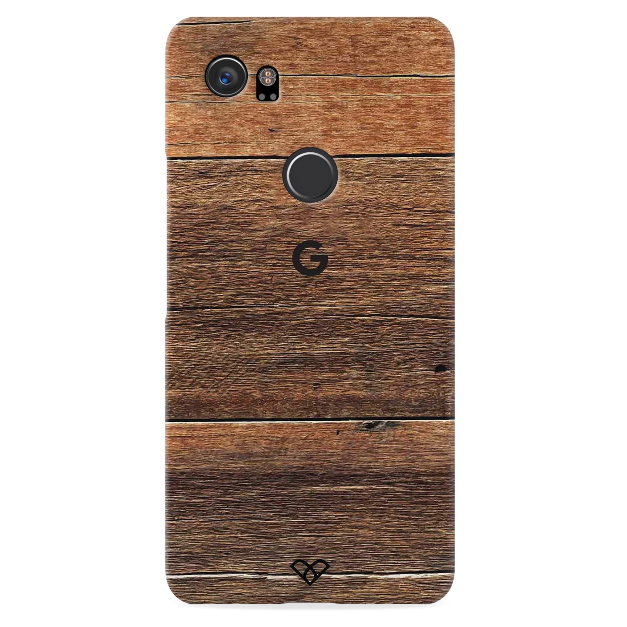 Plywood Texture Slim Case And Cover For Pixel 2 XL