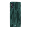 Green Camouflage Slim Case And Cover For Vivo Z1X