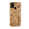 Square Wooden Slim Case And Cover For Galaxy M31