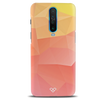 Polygon Pattern Slim Case And Cover For Poco X2