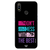 Dont Mess With The Best Slim Case And Cover For Realme 3 Pro
