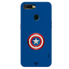 Captain America Shield Slim Case And Cover For Oppo A7