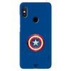 Captain America Shield Slim Case And Cover For Redmi Note 5 Pro