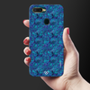 Avengers Emblem Pattern Slim Case And Cover For Oppo A7-Blue
