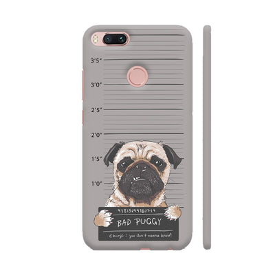 Bad Pug Slim Case And Cover For Redmi Mi A1