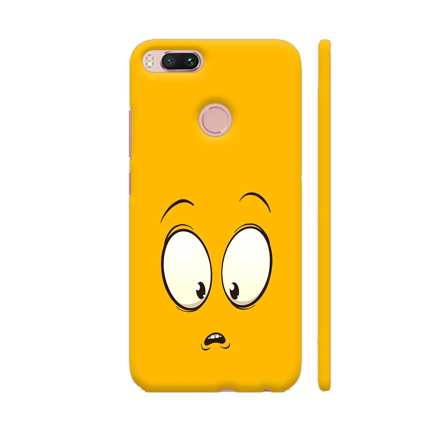 Confused Emoji Slim Case And Cover For Redmi Mi A1