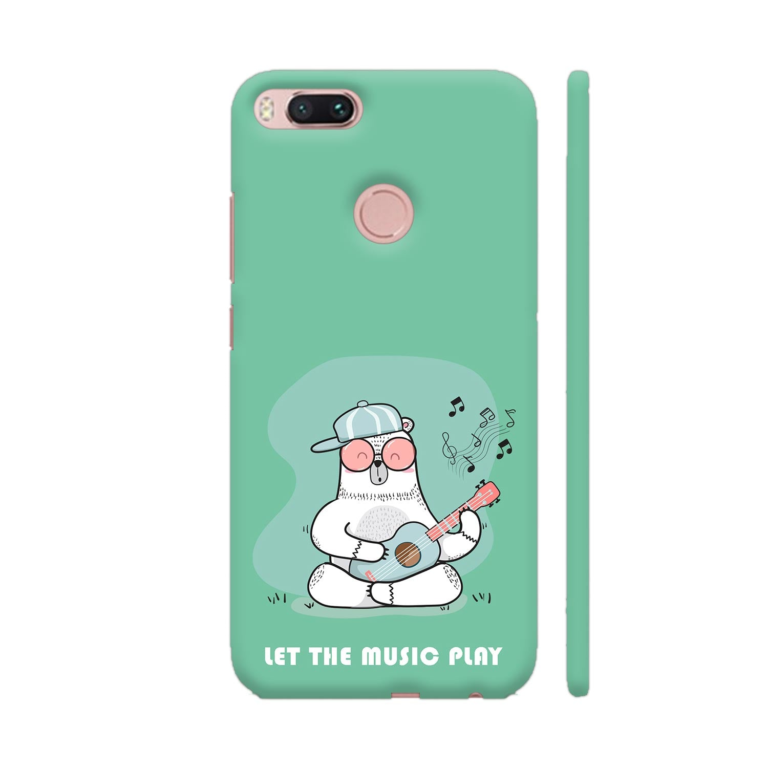 Musical Panda Slim Case And Cover For Redmi Mi A1