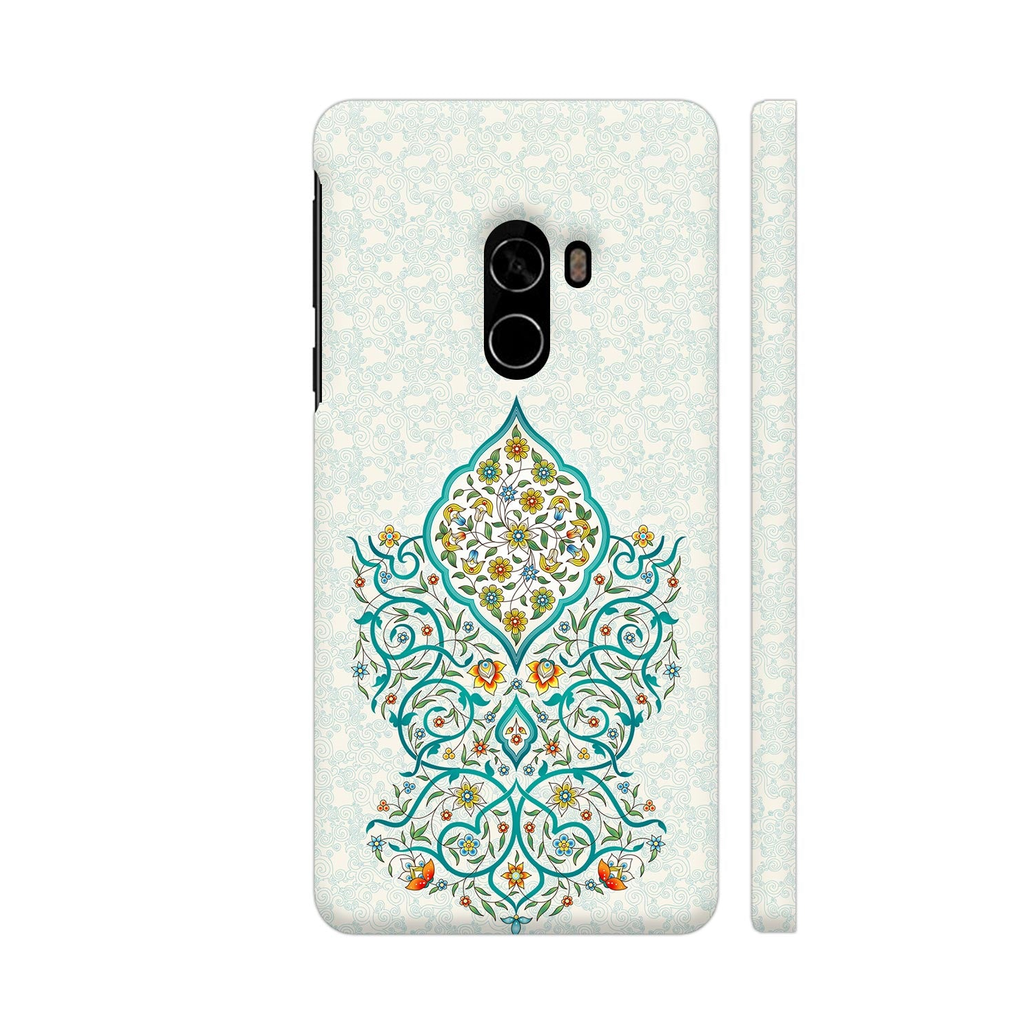 Floral Enchantment Slim Case And Cover For Mi Mix 2
