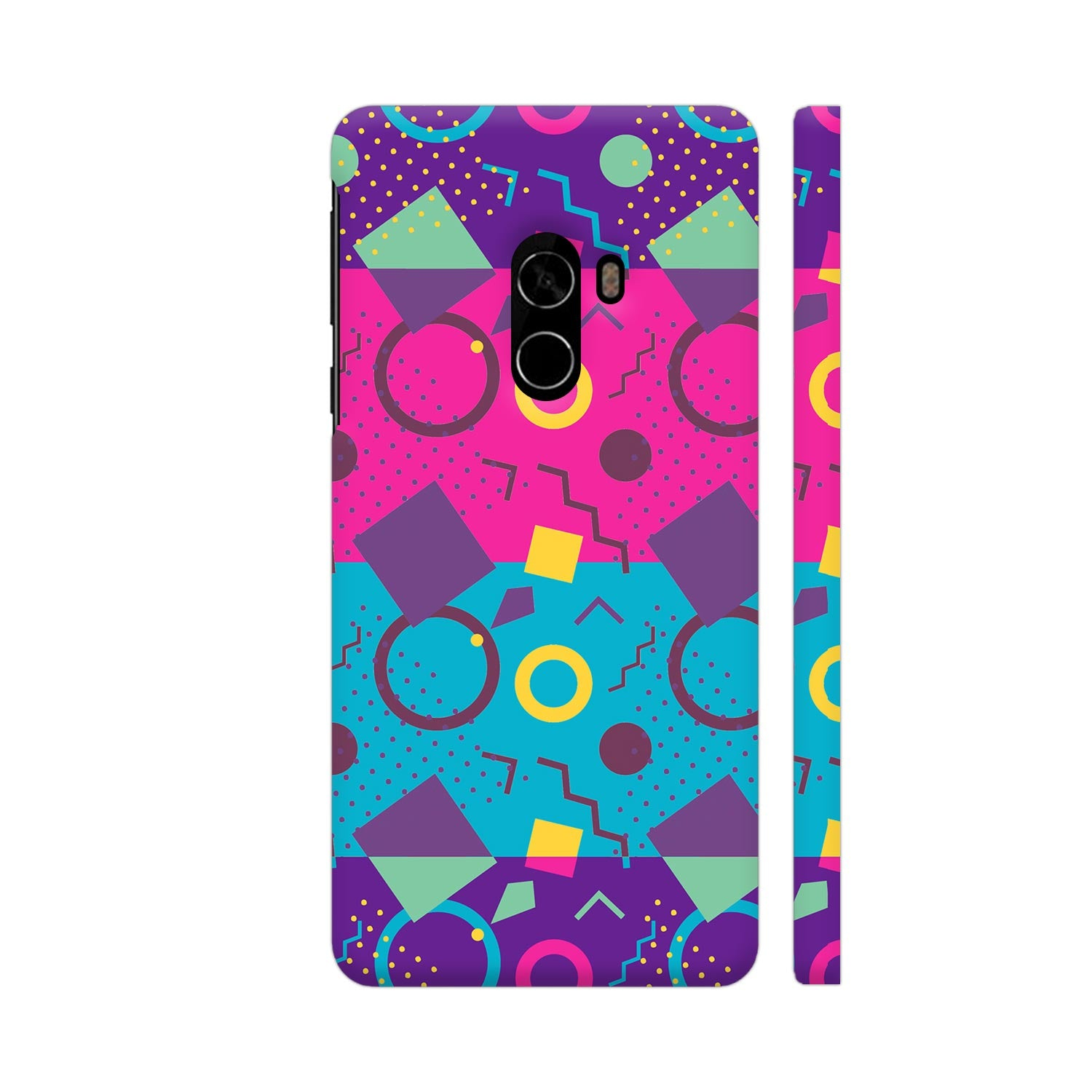 Neon Confetti Slim Case And Cover For Mi Mix 2