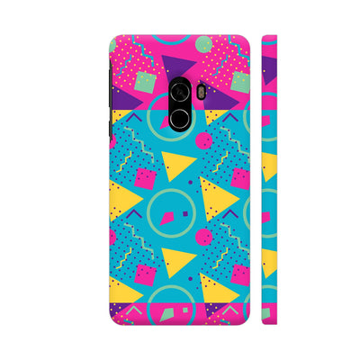 Neon Symmetry Slim Case And Cover For Mi Mix 2
