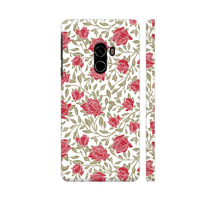 Petals And Leaves Slim Case And Cover For Mi Mix 2