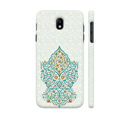 Floral Enchantment Slim Case And Cover For Galaxy J7 Pro