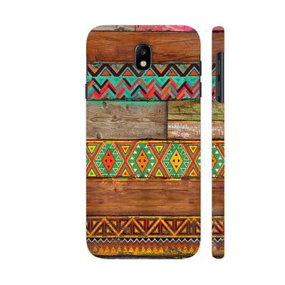Indian Wood Slim Case And Cover For Galaxy J7 Pro
