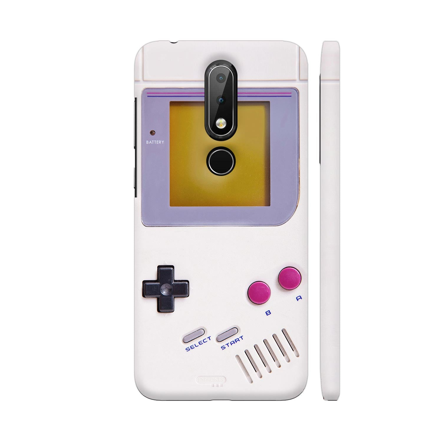 Nintendo Game Boy Slim Case And Cover For Nokia 6p1 Plus