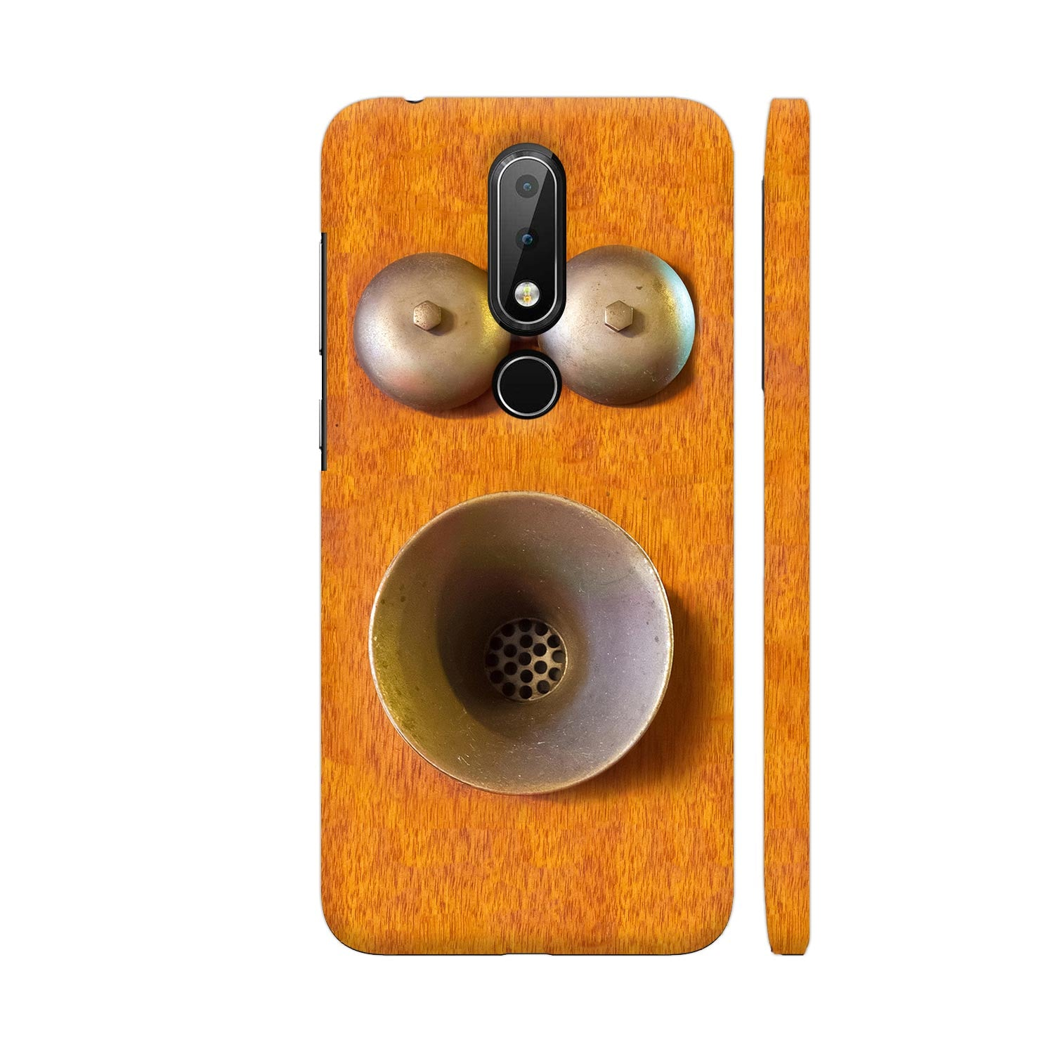 The Coffin Phone, 1870s Vintage Slim Case And Cover For Nokia 6p1 Plus
