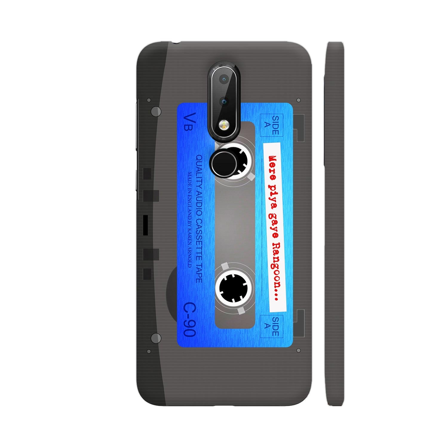 Those Vintage Cassette Days Slim Case And Cover For Nokia 6p1 Plus