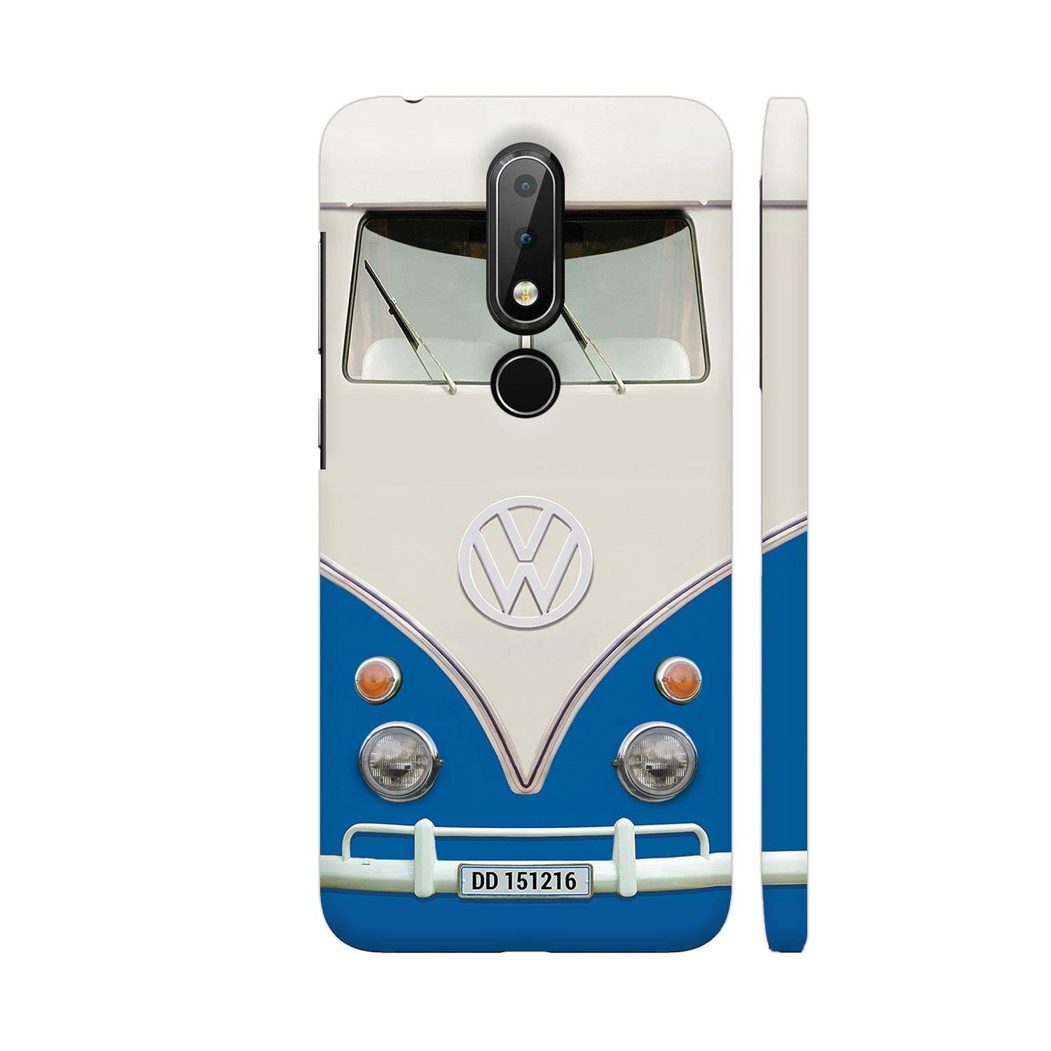 Volkswagen Hippie Camper Slim Case And Cover For Nokia 6p1 Plus