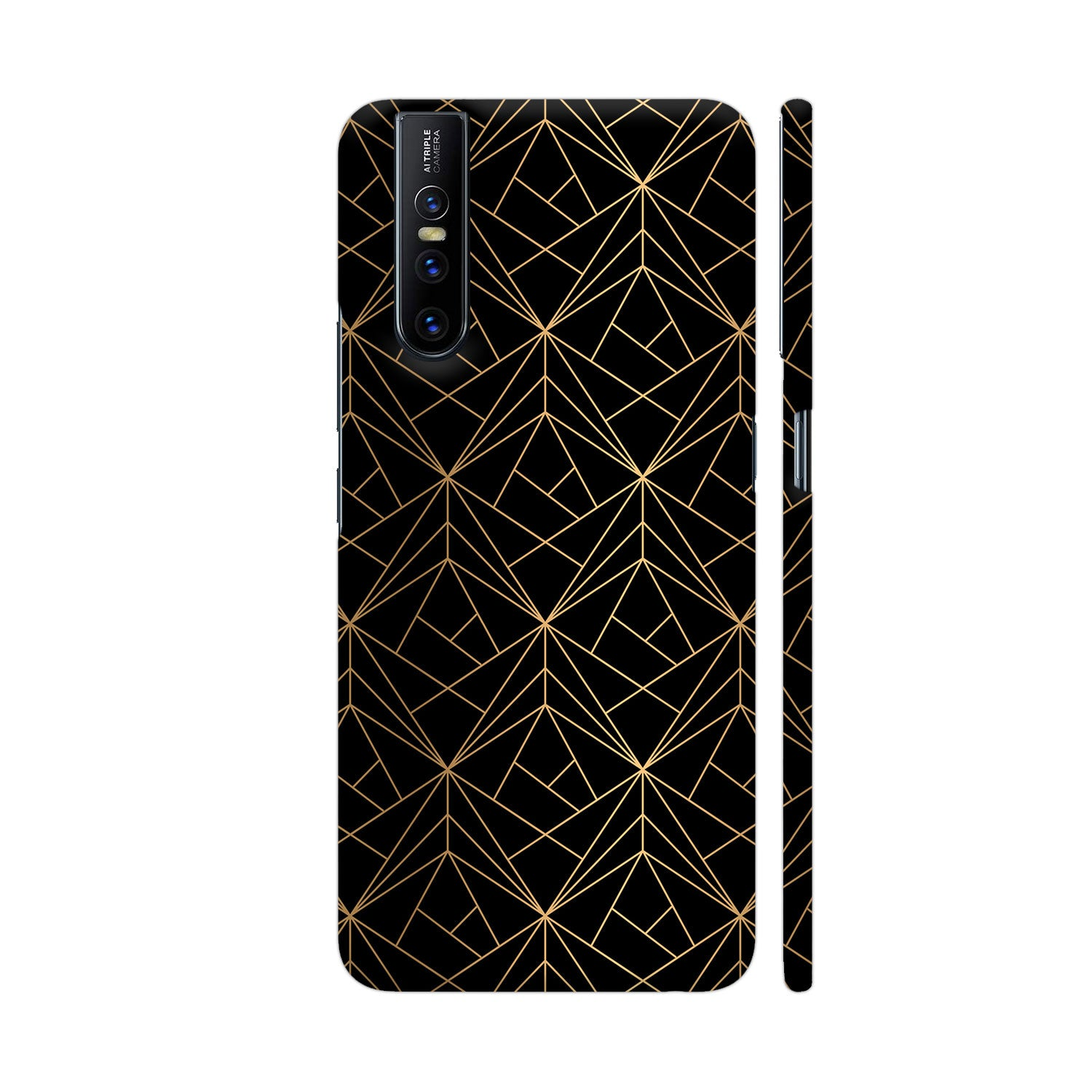 Cross Contour Series Slim Case And Cover For Vivo V15 Pro