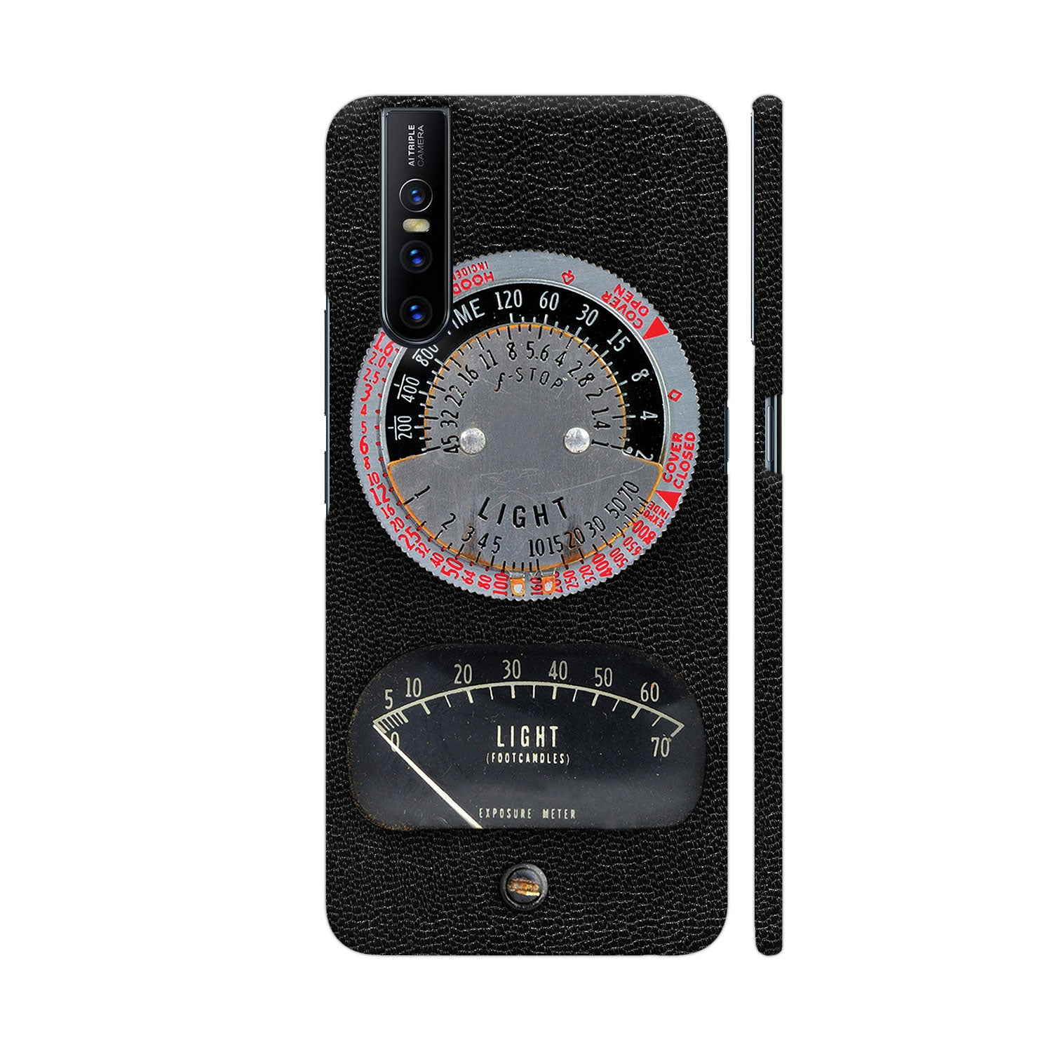 1950s Vintage Photographic Light Meter Slim Case And Cover For Vivo V15 Pro