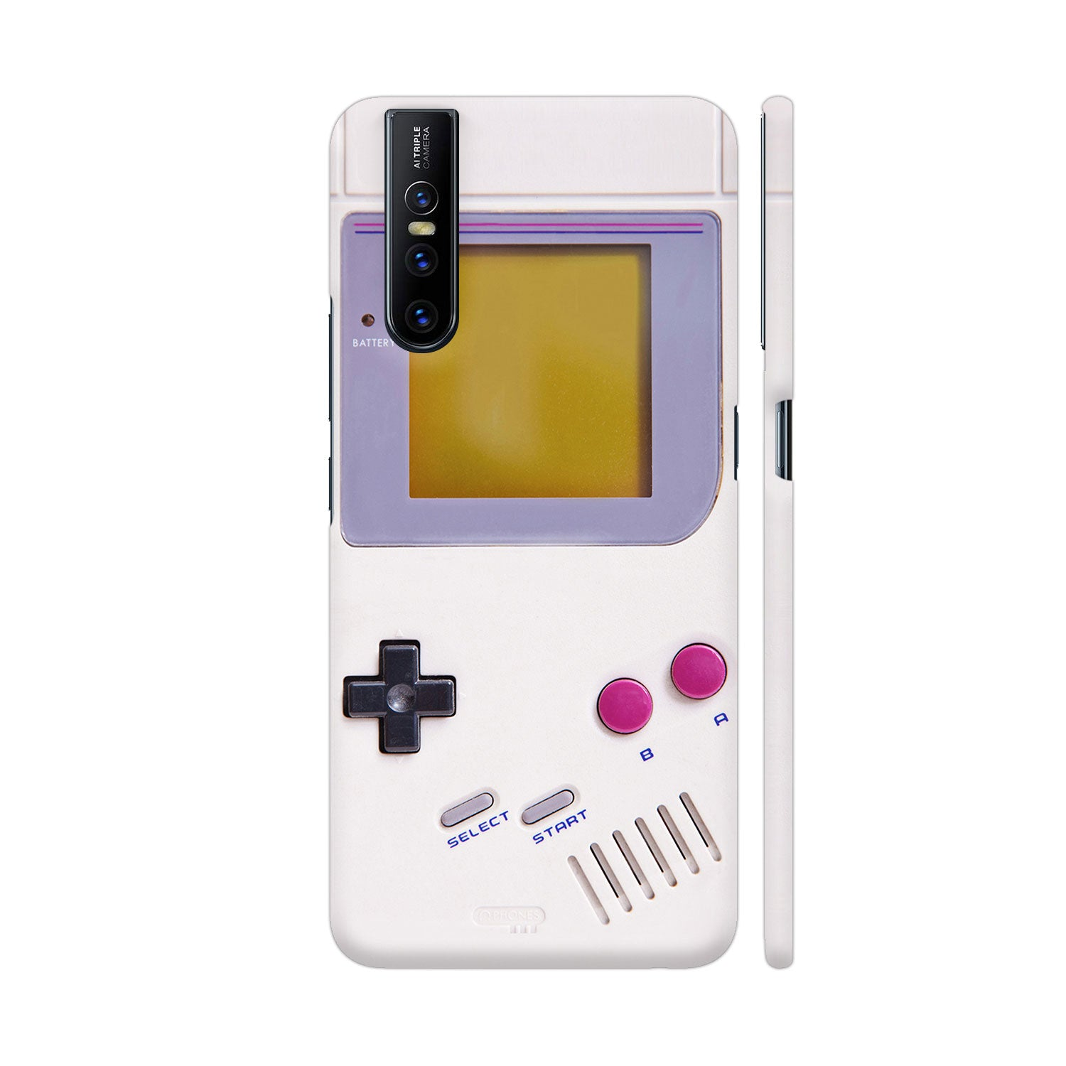 Nintendo Game Boy Slim Case And Cover For Vivo V15 Pro