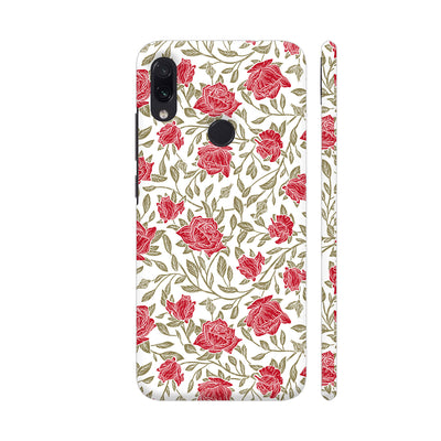 Petals And Leaves Slim Case And Cover For Redmi Note 7