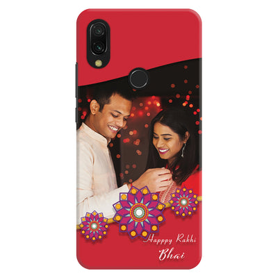 Redmi Note 7 Happy Rakhi Bhai Custom Slim Cases And Covers