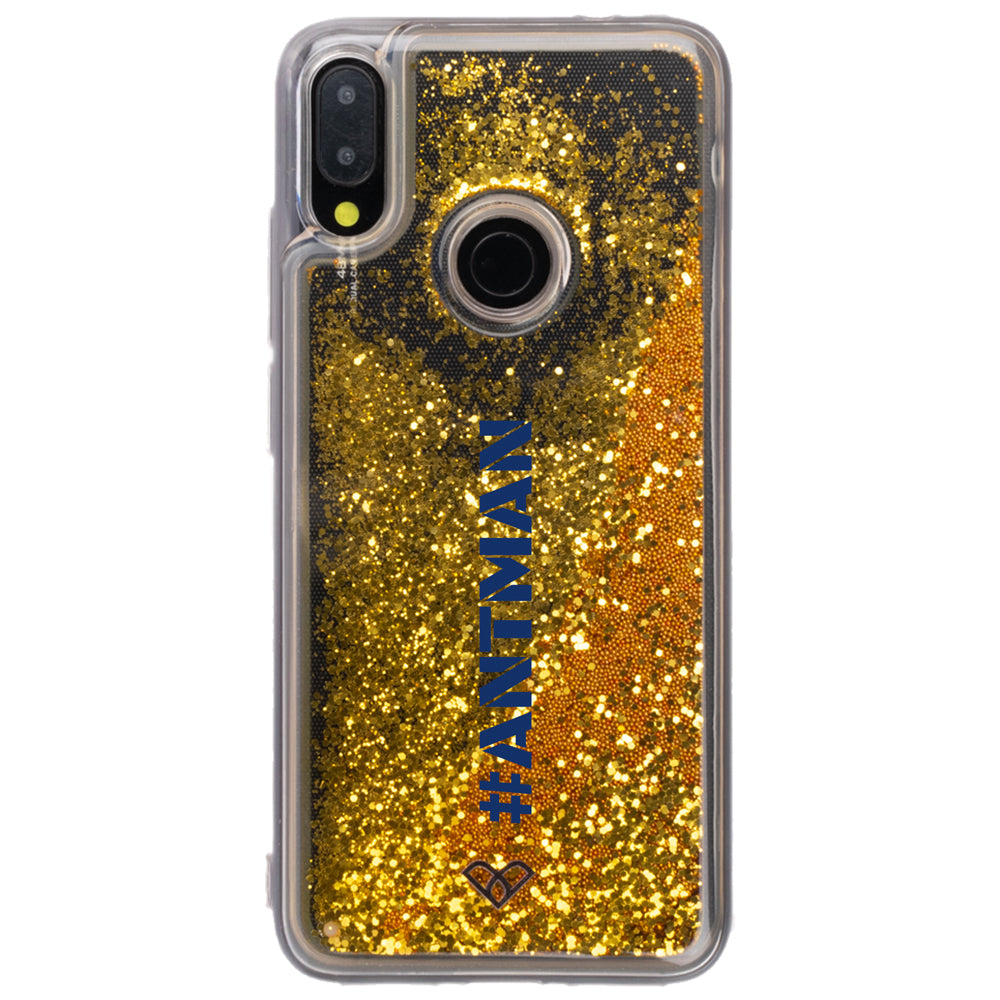 Redmi Note 7 Custom Glitter Cases And Covers-Bling Gold
