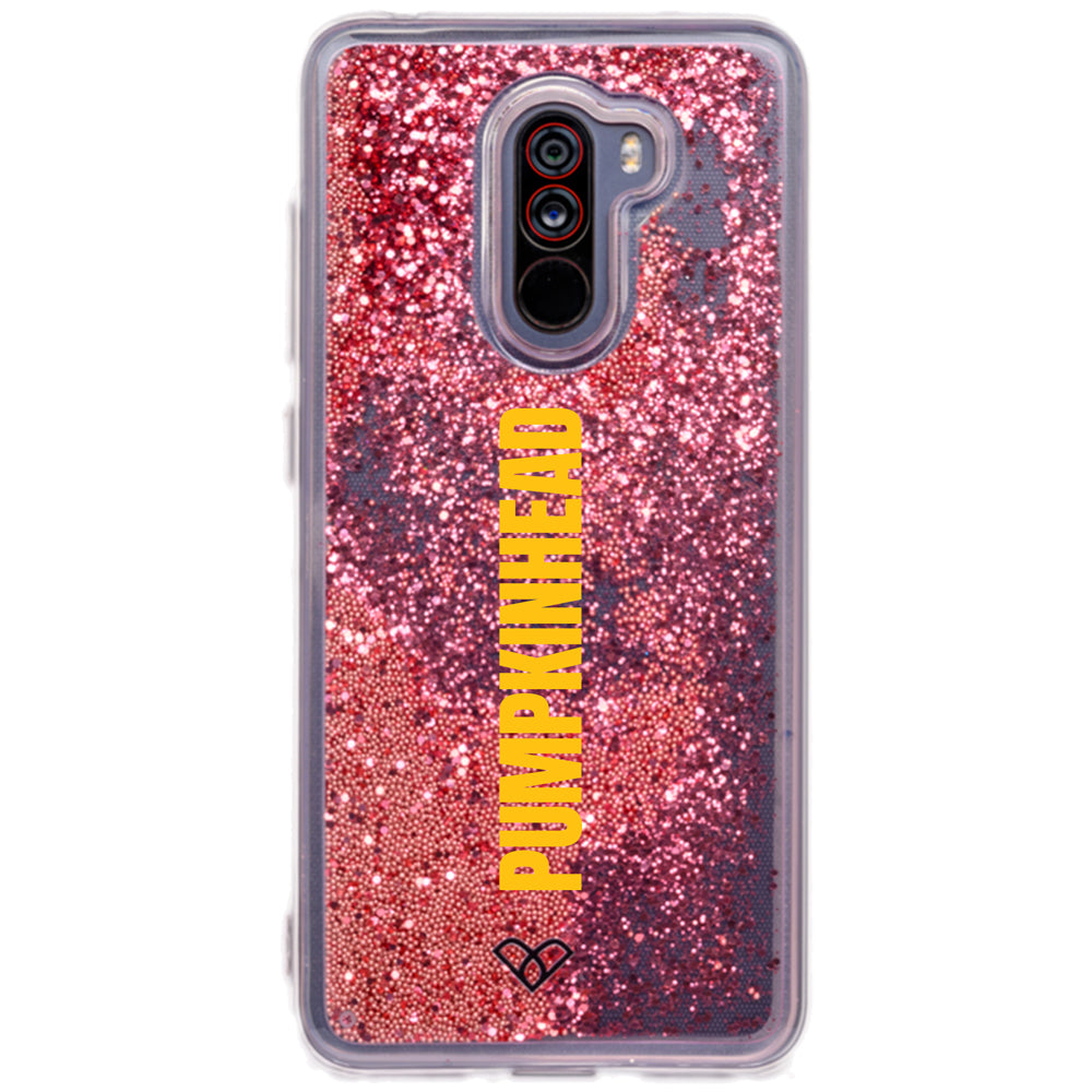Poco F1 Custom Glitter Cases And Covers-Electric Pink