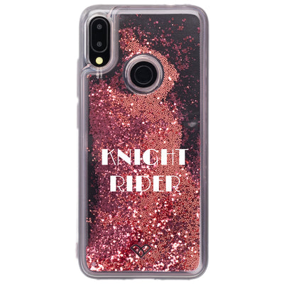 Redmi Note 7 Custom Glitter Cases And Covers-Electric Pink