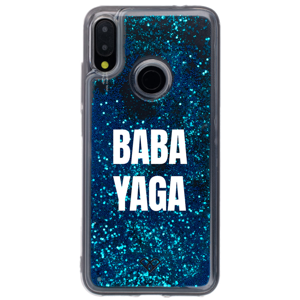 Redmi Note 7 Pro Custom Glitter Cases And Covers-Sparkling Blue
