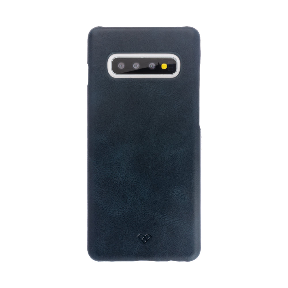Galaxy S10 Leather Cases And Covers-Aegean Blue