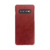 Galaxy S10 Leather Cases And Covers-Ruby Red