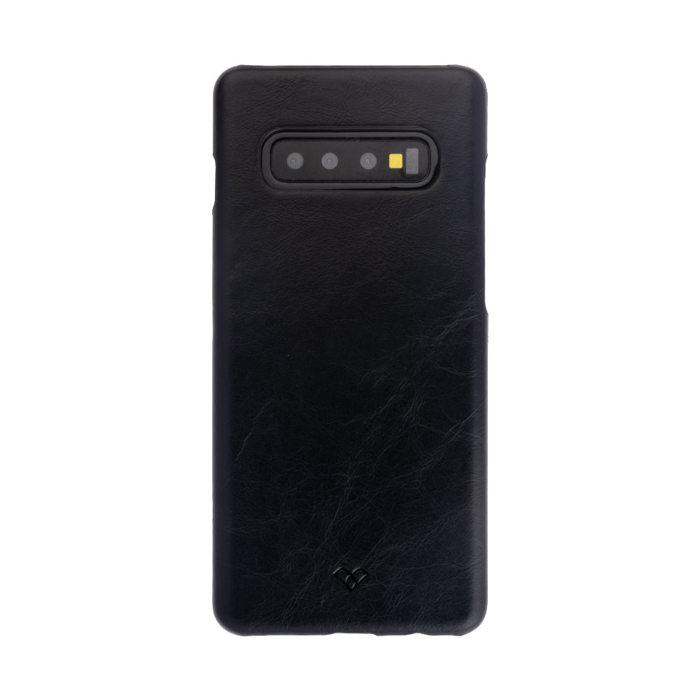 Galaxy S10 Leather Cases And Covers-Onyx Black