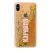 iPhone XS Max Custom Glitter Cases And Covers-Gold