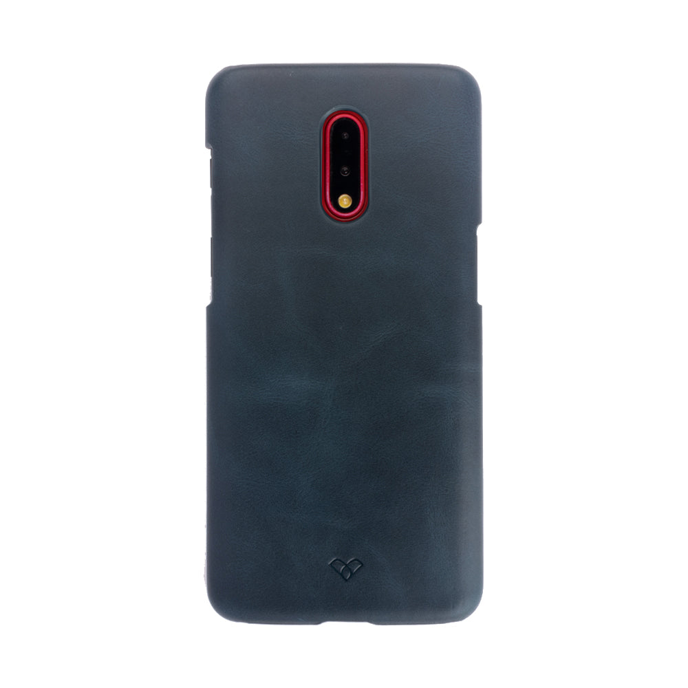 OnePlus 7 Leather Cases And Covers-Aegean Blue