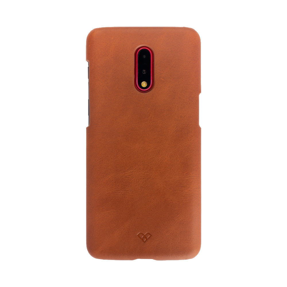 OnePlus 7 Leather Cases And Covers-Caramel Brown