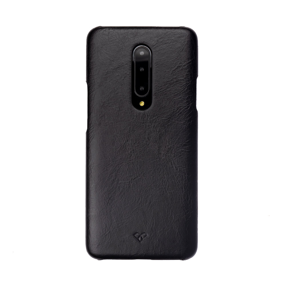 OnePlus 7 Pro Leather Cases And Covers-Onyx Black
