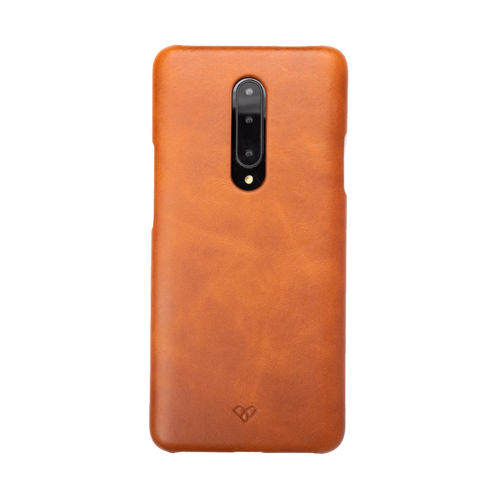 OnePlus 7 Pro Leather Cases And Covers-Caramel Brown