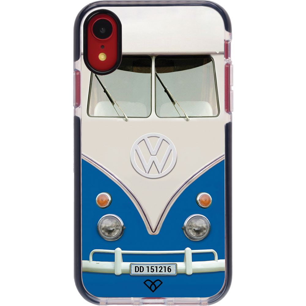 Volkswagen Hippie Camper Impact Case And Cover For iPhone XR-Blue