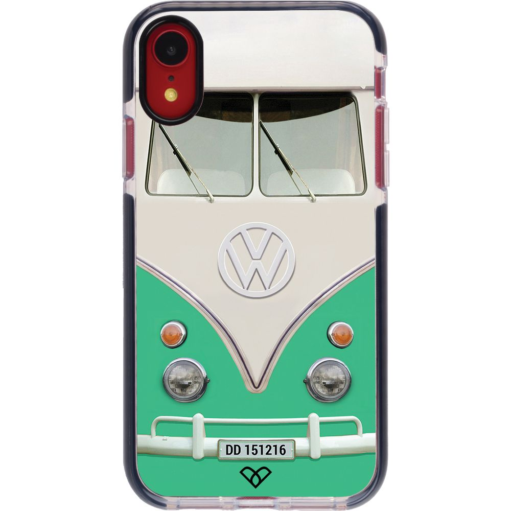 Volkswagen Hippie Camper Impact Case And Cover For iPhone XR-Teal