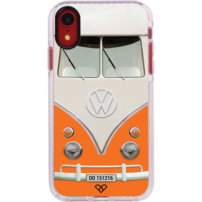 Volkswagen Hippie Camper Impact Case And Cover For iPhone XR-Orange