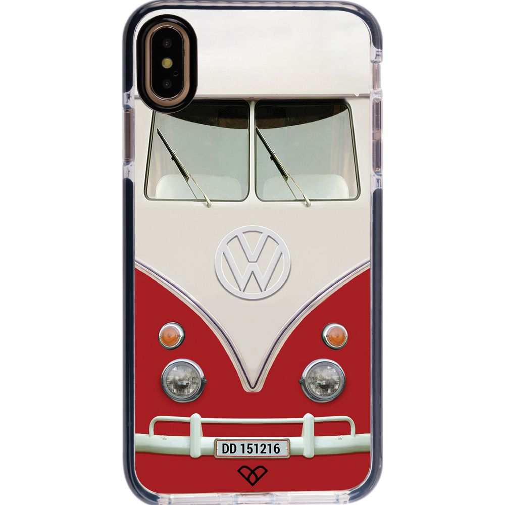 Volkswagen Hippie Camper Impact Case And Cover For iPhone XS Max-Red