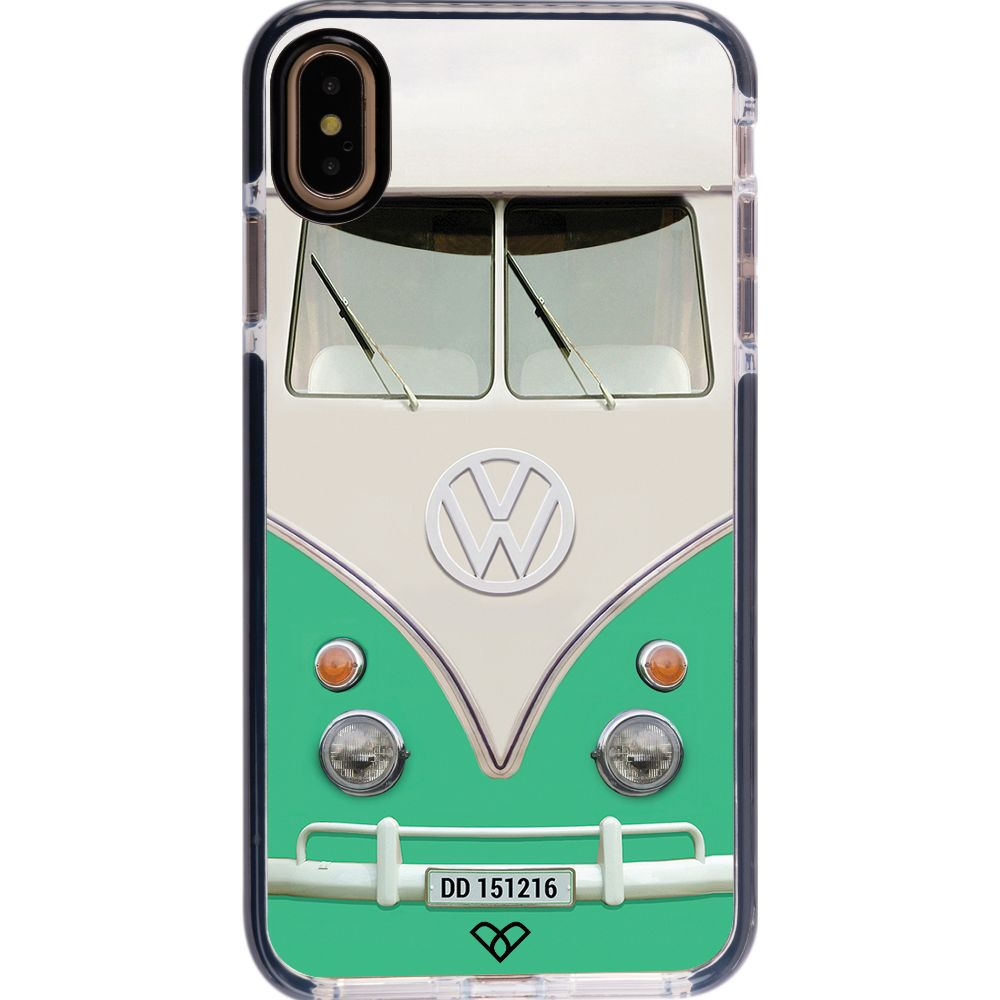 Volkswagen Hippie Camper Impact Case And Cover For iPhone XS Max-Teal