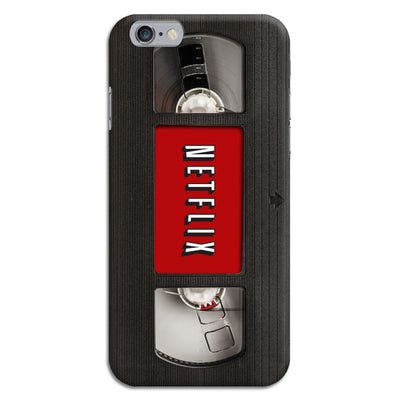 Netflix On VHS Slim Case And Cover For Iphone 6